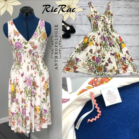 Anthropologie Dresses & Skirts - Anthropologie Ric Rac Garden Party Floral Dress